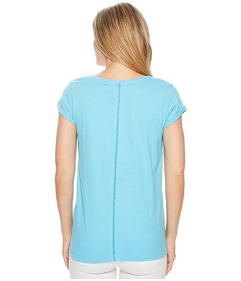 en con azul camiseta cuello v Hatley Kate f7pEqU7I