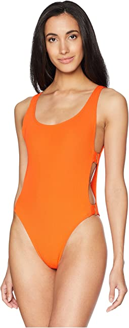 Ridin' High Mayra Ribbed One-Piece