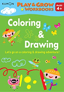 Play and Grow: Coloring & Drawing
