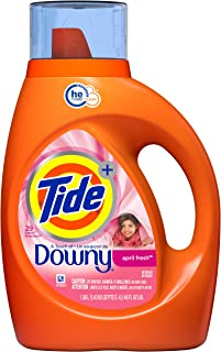 Tide Plus A Touch of Downy HE Liquid Laundry Detergent, 1.36L