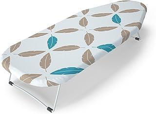 LaundrySpecialist® Tabla DE Planchar de Mesa. Una Tabla de Planchar Estable y fácil de Guardar, Ideal para viviendas pequeñas o Durante los Viajes. Dimensiones 70 x 33 cm