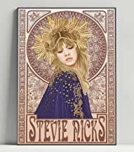 Custom Stevie Nicks With Pretenders 24 Karat Gold Tour Silk Poster Wall Decor