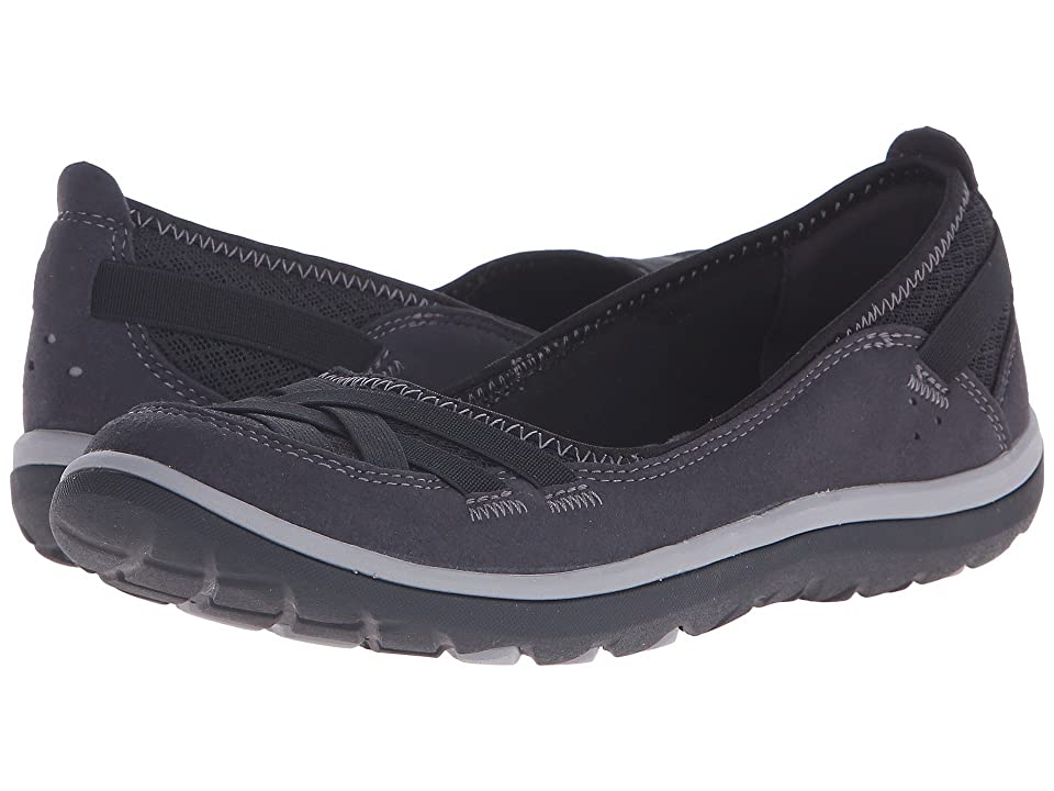 Clarks Aria Pump (Black Synthetic) High Heels