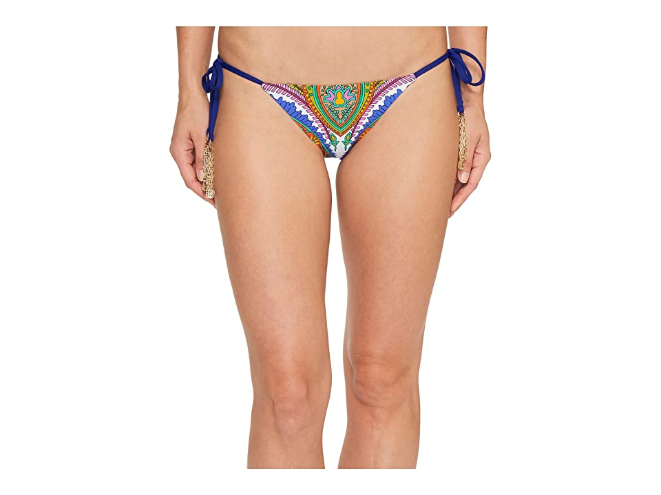 Trina Turk Pacific Paisley Tie Side Hipster Bottom (Multi) Women