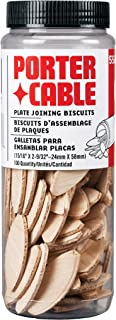 PORTER-CABLE 5562 No. 20 Plate Joiner Biscuits – 100 Per Tube