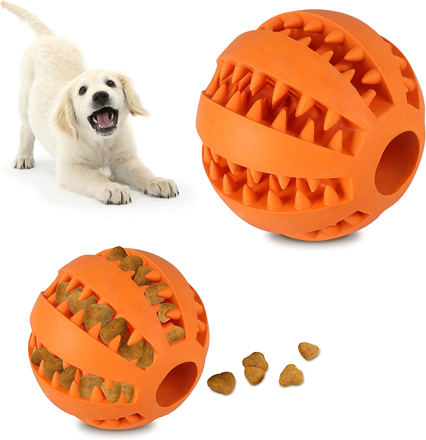 Vicooda Interactive Dog Tug Toy Ball Bombing new work Chew with NEW S of