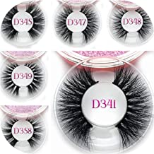 60 style glamorous eye lashes own brand eyelashes and private label 3D eyelashes faux mink lashes,C,0.15mm,D340,Other