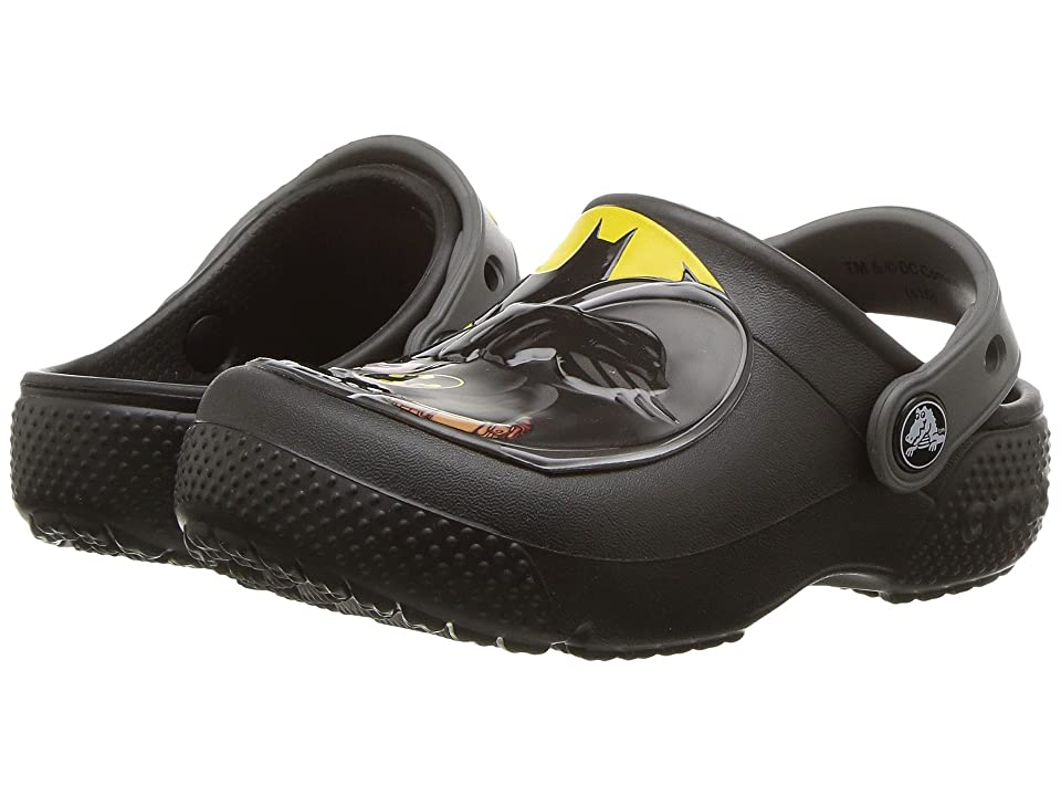 Crocs Kids CrocsFunLab Batman Clog (Toddler/Little Kid) (Black) Boys Shoes