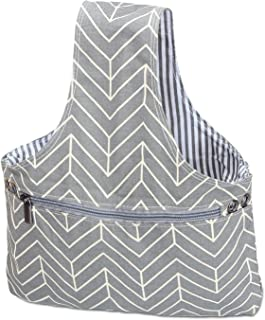 drawstring knitting bag