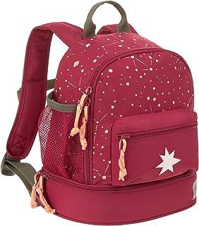 Mochila Infantil para niños pequeño/Mini Backpack Magic Bliss Chica, Rojo, 24.5 x 15.5 x 27 cm