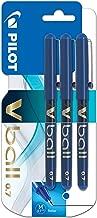 Pilot Vball 7 Liquid Ink Rollerball 0.7 mm tip (Pack of 3) Pen - Blue