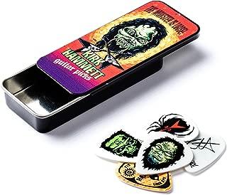 Dunlop KH01T088 Kirk Hammett Monster Pick Tin, Assorted, .88mm, 6 Picks/Tin