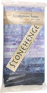 Stonehenge Gradations Mystic Twilight Stone Strips 40 2.5-inch Strips Jelly Roll Northcott