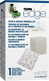 Fluval Edge Foam and Biomax Filter Media Renewal Kit
