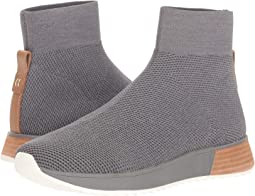 Grey Switchback Knit