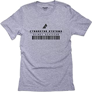 Hollywood Thread Cyberdyne Systems Skynet Division Logo Mens 100% Cotton T-Shirt