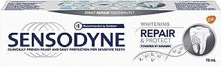 Sensodyne Toothpaste Sensodyne Repair & Protect Whitening Daily Toothpaste for Sensitive Teeth, Mint ,75ml