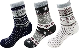 Women's Extra Thick Plush Super Soft Warm Fuzzy Cozy Home Indoor Outdoor Cabin Socks