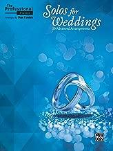 piano solos for weddings