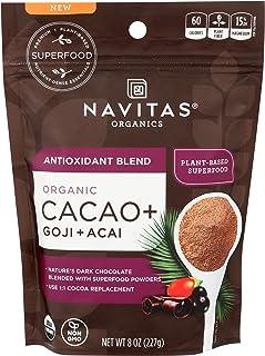 Navitas Naturals, Superfood Blend Antioxidant Cacao Goji Organic, 8 Ounce