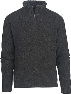 Men's Rocky Oaks Lambswool Half Zip Sweater