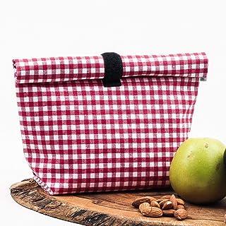 Bolsa eco cero residuo para llevar comida, fruta, frutos secos