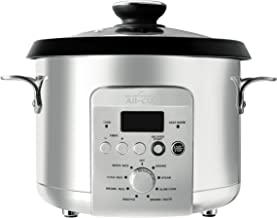 All-Clad 7211002537 Electric Multi Rice Cooker, 4 Qt Grain, Stainless Steel
