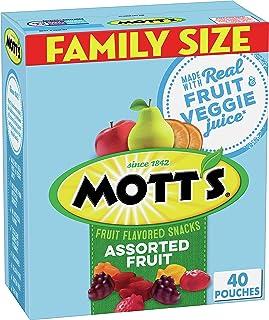 Mott's Medleys, Assorted Fruit Snacks, Gluten Free, 0.8 oz, 40 ct