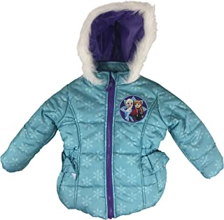 Little Girl's Toddler Frozen Puffer Jacket