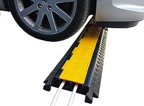 SNS SAFETY LTD Pasacables de Suelo para Protección de Conductos 28 mm (Paquete de 1, 2-Canales)