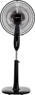 mainstays oscillating stand fan assembly