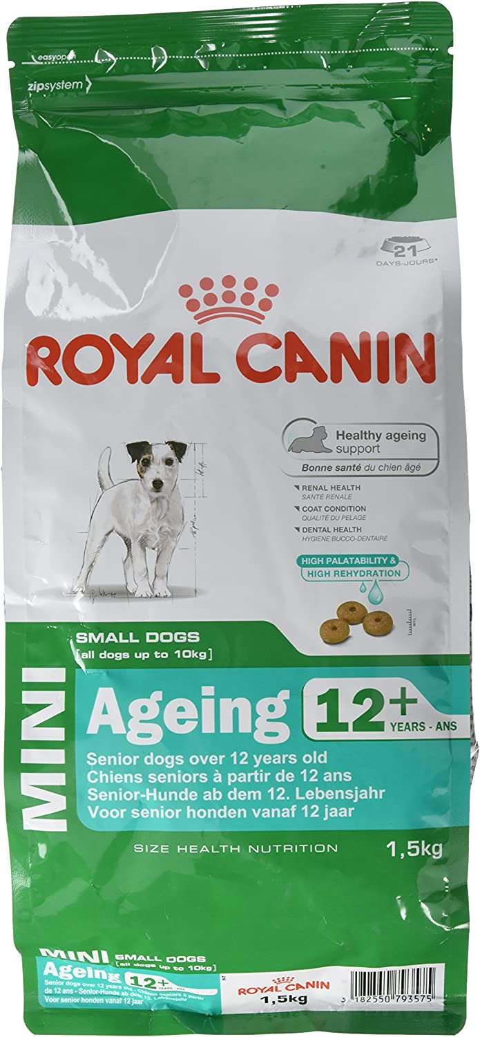 Royal Canin Mini Breed Ageing 12 Plus Dog Food (1.5kg)