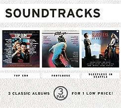 3 Pak: Movie Soundtracks Top Gun / Footloose / Sleepless In Seattle