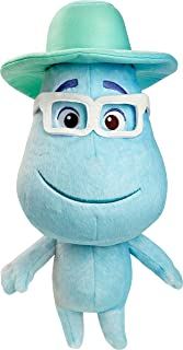 Mattel Disney and Pixar Soul Joe Gardner Feature Plush Doll Collectible Approx 16-in / 40.6-cm Tall, Huggable Stuffed Character Toy with Movie-Authentic Look, Collectors Gift