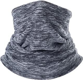 QINGLONGLIN Neck Warmer Gaiter, Polar Fleece Ski Face Mask Cover for Winter Cold Weather & Keep Warm