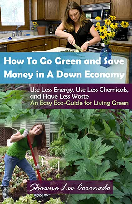 How To Go Green and Save Money In A Down Economy (English Edition)