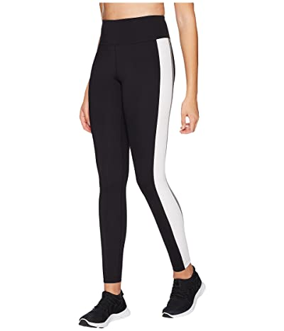 Core 10 Icon Series The Track Star Leggings (Black/Grey/White) Women
