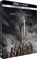 Zack Snyder's Justice League [4K Ultra HD Édition boîtier SteelBook]