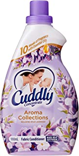 Cuddly Aroma Collections Fabric Softener Conditioner Relaxing Wild Lavender Made in Australia, 900mL, Off-white