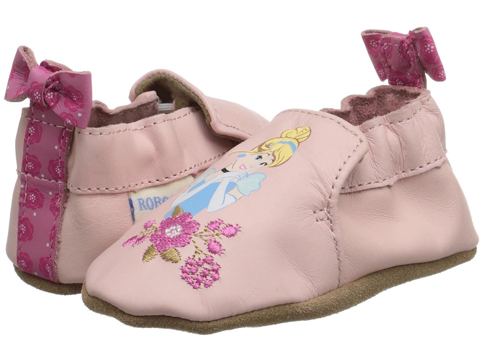 Robeez Disney® Baby By Robeez Cinderella Soft Sole (Infant/Toddler)Atmospheric grades have affordable shoes
