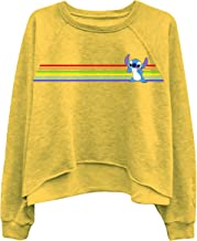 Ladies Lilo and Stitch Sweatshirt - Ladies Classic Lilo and Stitch Oversized Raglan Sweatshirt
