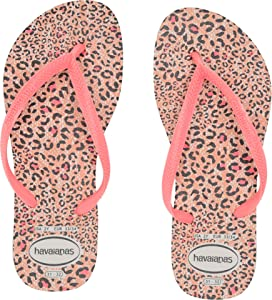 7937a6215823 Havaianas Kids Slim Tropical Floral Flip-Flop (Toddler Little Kid ...
