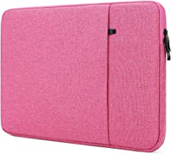 """NIDOO 14 inch Laptop Sleeve case Protective Computer Cover for 14"""" Dell Inspiron Chromebook Latitude 14/14"""" Chromebook S330 IdeaPad S145 S340 S540 / 14"""" Dell Inspiron 5480 5481 5482 5490, Rose"""