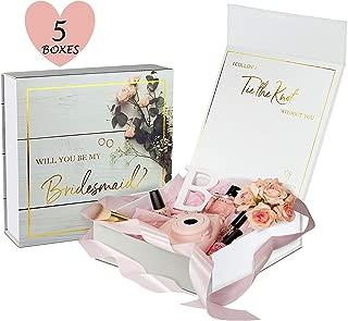 Bridesmaid Proposal Box - Premium Gold Stamped