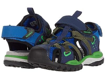 Geox Kids Borealis Boy 8 (Little Kid) (Blue/Green) Boy