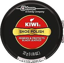 Kiwi Black Shoe Paste Polish 1-1/8 Ounce, Small