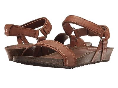 Teva Ysidro Stitch Sandal (Brown) Women