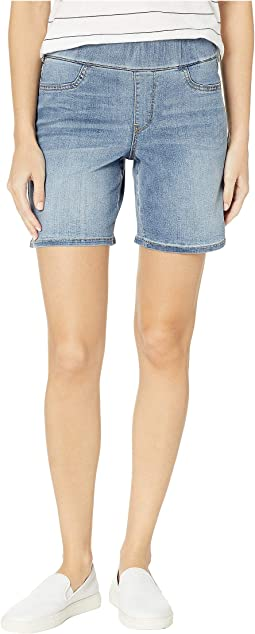 Pull-On Shorts w/ Slit in Cano