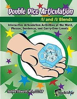 Speech Corner Double Dice Articulation L and L Blends - Educational Workbook