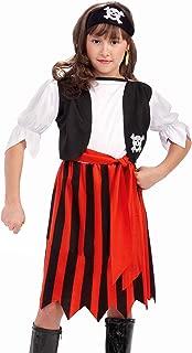 Forum Novelties Pirate Lass Costume, Child Medium